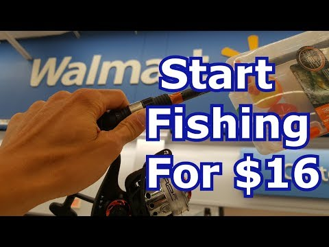 Best Walmart Fishing Gear For Beginners - Rods, Reels, Lures, Tackle