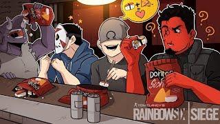 SUSHI DORITOS! | Rainbow Six: Siege (w/ H2O Delirious, Ohmwrecker, & Gorillaphent) R6 Blood Orchid