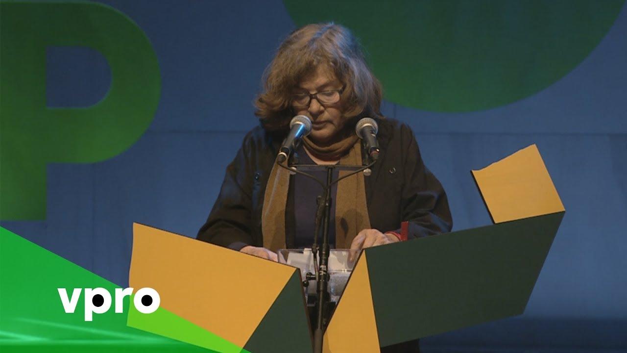 Neeltje Maria Min Op De Nacht Van De Poëzie 2017
