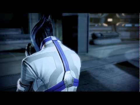 Mass Effect 2: Shai and Liara's 1st Kiss