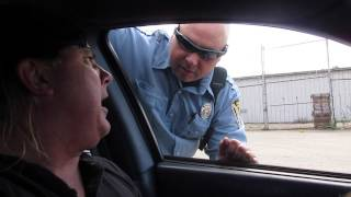 Cops Actual Footage Traffic Stop with Donnie Baker Ends with Police Chase Video.
