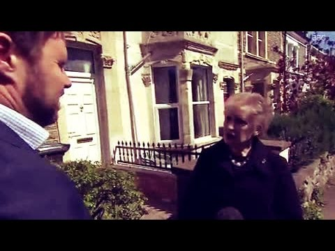 'Not another one!' Woman's hilarious reaction to general election