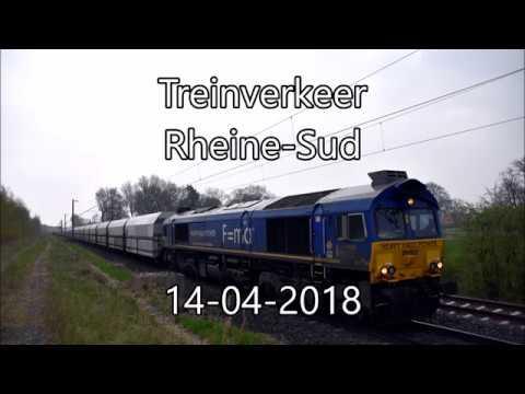 treinverkeer Rheine Sud met oa DB E10-1239 + HHPI 29002