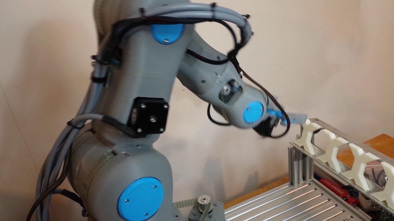 RBX1 (Remix): 3D Printed 6 Axis Robot Arm Beta Kit