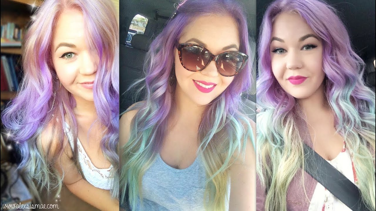 MY PASTEL HAIR! How to Prevent Color Fade