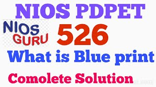 Preparation of balanced question paper based on design and blue print( Module-526)