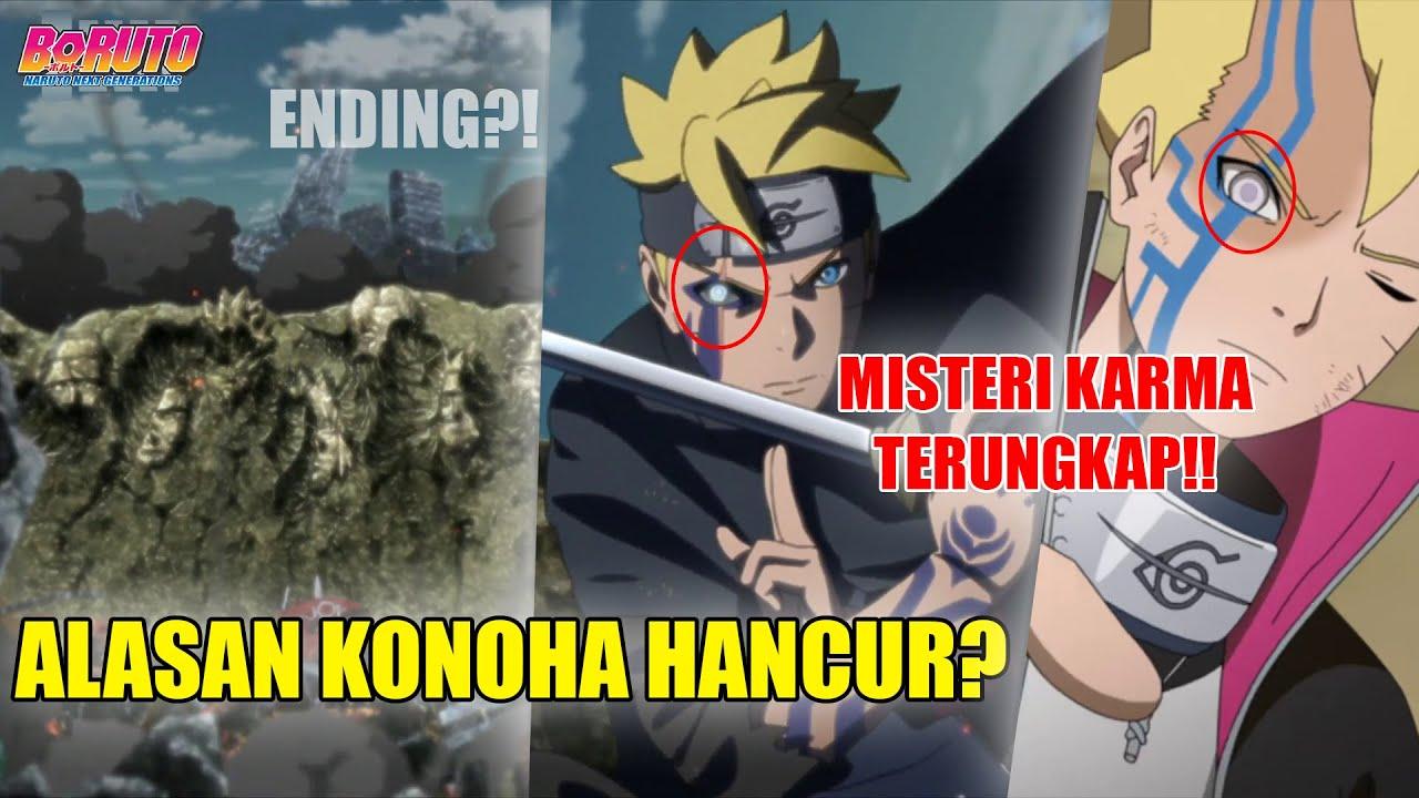 TEORI ENDING BORUTO - Momoshiki & Code Akhirnya Mati..!! Ungkap Battle Akhir Boruto Vs. Kawaki...
