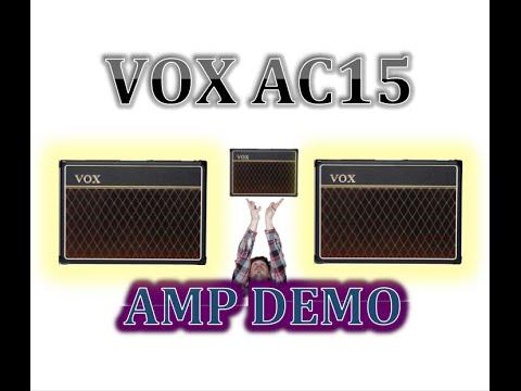 Vox AC15 CC1 AMP DEMO