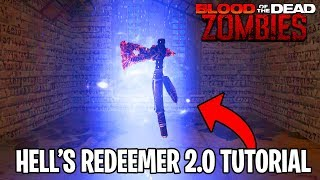 BLOOD OF THE DEAD - HELL'S REDEEMER EASTER EGG TUTORIAL (Black Ops 4 Hell's Retriever Upgrade Guide)
