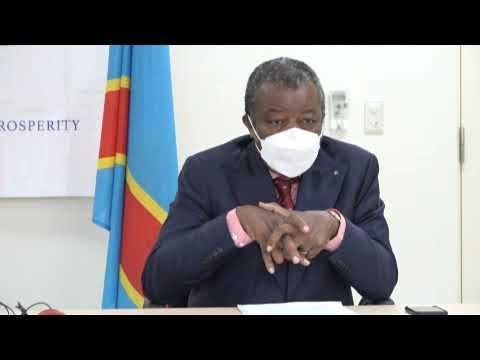 RDC Docteur Muyembé A Ndimi Vaccin Ya Coronavirus Na Kinshasa