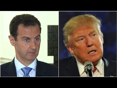 Assad: Trump can be 'natural ally' of Syria