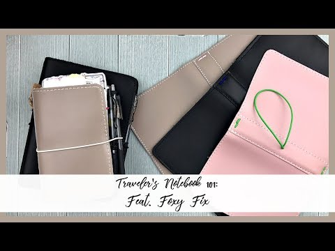 Traveler's Notebook 101: How to Buy and Fill | Feat. Foxy Fix | Organized with Olivia