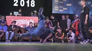 Yosh & Uzee Rock vs Kazino & Mold - Półfinał 2vs2 na Bomb Jam 2018