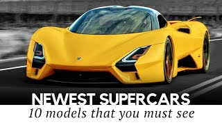 Top 10 All-New Supercars Arriving in 2019-2020 (Top Speed, Interior and Exterior)