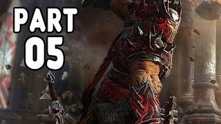 Let's Play Lords of the Fallen Gameplay German Deutsch #5 PS4 - 2. Boss Kommandant