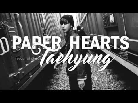 Taehyung - Paper Hearts [SeoulRaindrops AUDIO EDIT]