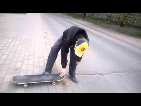 Как правильно ставить ноги на скейтборде