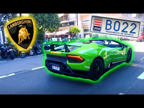 MONACO - Lamborghini, Ferrari und Co. [Travel Blog Deutsch]