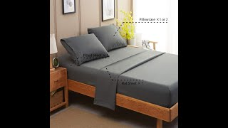 1800 Thread Count Luxury Egyptian Bed Sheets Queen Size ( EPISODE 2877) Amazon Prime Unboxing