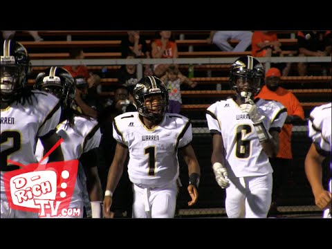 Warren Harding Raiders vs The Massillon Tigers - 2016 Football