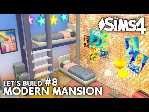 Download Youtube: Zwillinge Kinderzimmer | Die Sims 4 Haus bauen | Modern Mansion #8 (deutsch)