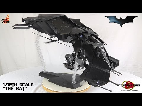 Hot Toys The Dark Knight Rises The Bat Video Review