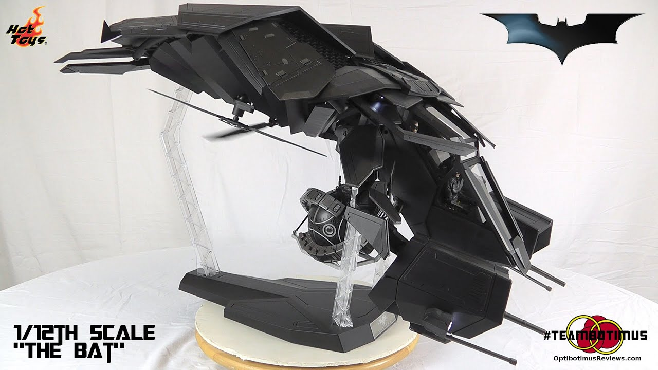 Hot Toys The Dark Knight Rises The Bat Video Review - YouTube