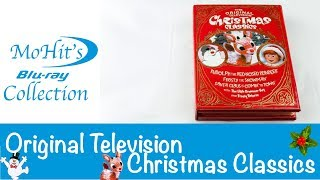 The Original Television Christmas Classics DVD Unboxed Frosty the Snowman Rudolph and more