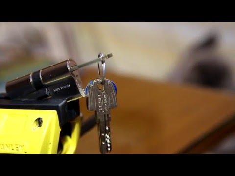 Взлом отмычками Tesa T80  58 - Lockpicking TESA T80 ()