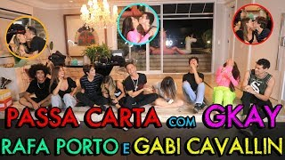 PASSA CARTA COM GKAY, RAFA PORTO E GABI CAVALLIN!!! | #MatheusMAzzafera