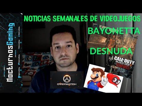Noticias semanales de videojuegos #5 - Bayonetta DESNUDA, planes de Nintendo en LA E3 y muchas más