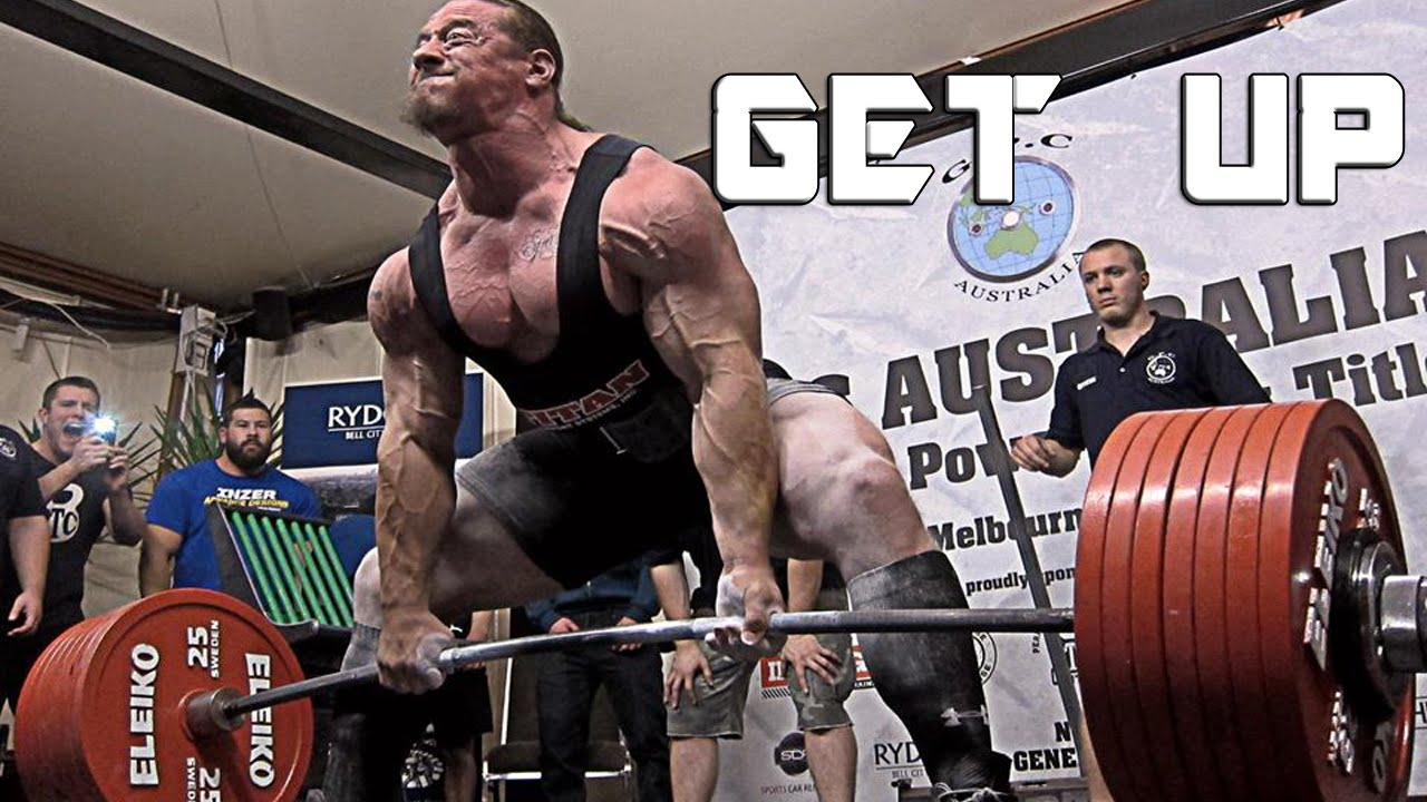 powerlifting motivation get up youtube