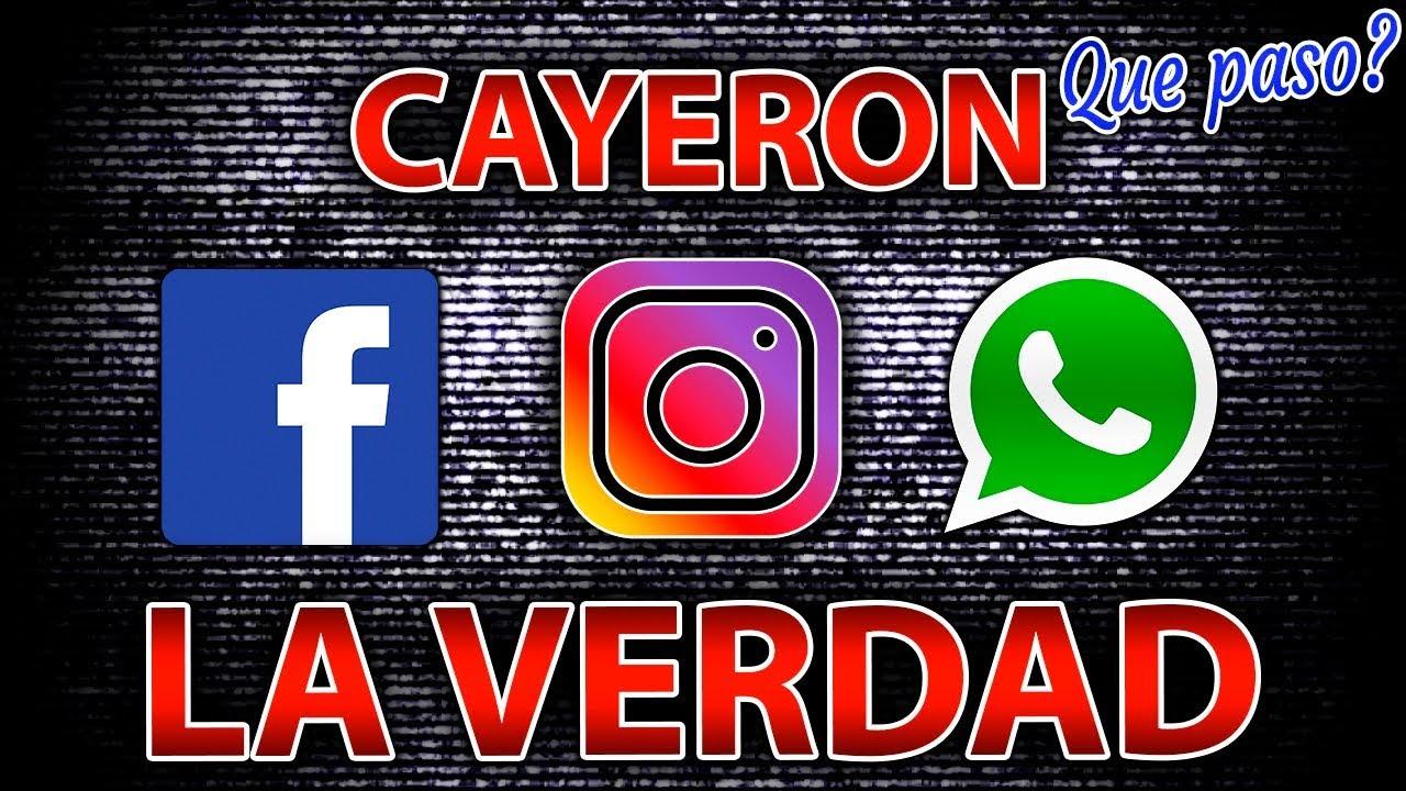 Cayo Facebook Instagram Y WhatsApp U00bfPor Que Hoy 2019