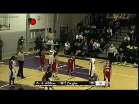 2013 Girls Big 8- Cardinal Gibbons vs Coconut Creek