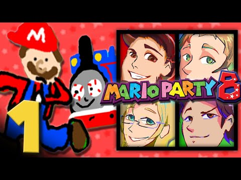 Mario Party 8: CHOO CHOO- EPISODE 1 - Friends Without Benefits