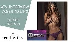 ATV High Society Micaela Schaefer - VASER 4D Lipo für Bauchmuskeln.