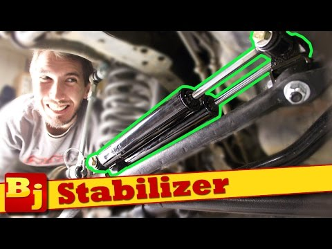 How To Install a Steering Stablizer - Rough Country