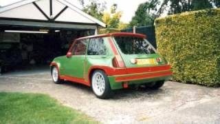 Renault  5 v8 Supercar