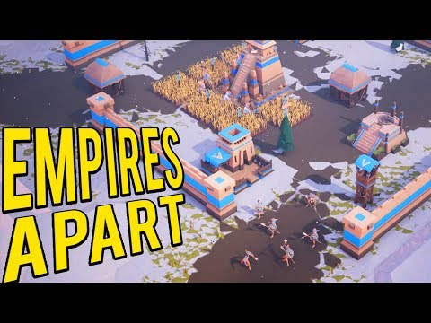 New RTS! Similar to Age of Empires! Aztec - Empires Apart Lets Play