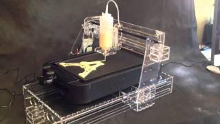 Automatic Food 3D Printing Technology Machine - Pancake Making Printer