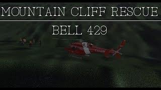 Video [X-Plane 11] Mountain Cliff Rescue in Bell 429. download MP3, 3GP, MP4, WEBM, AVI, FLV Juli 2018