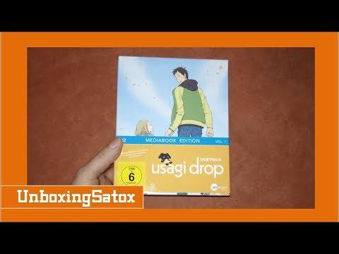 Unboxing Usagi Drop Volume 1 limited Mediabook Edition + Sammelschuber + Plüschhase