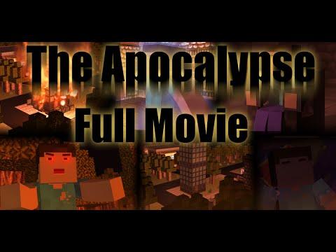 "The Apocalypse ""Zombie Horror/Thriller film"" (Minecraft Full Movie)"