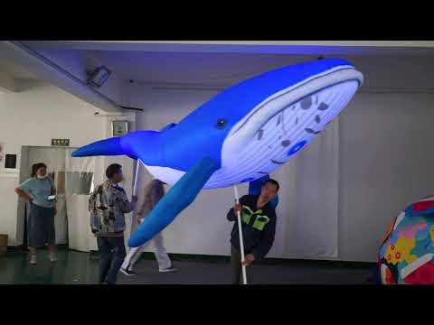 advertising-inflatable-balloon-shark-puppet-with-led-for-stage-decoration