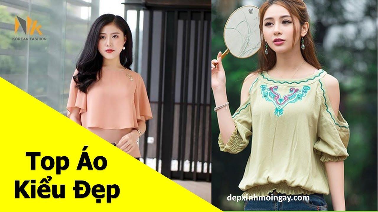Top áo kiểu nữ đẹp | 50 áo kiểu đẹp lạ mới thời trang Phần 6