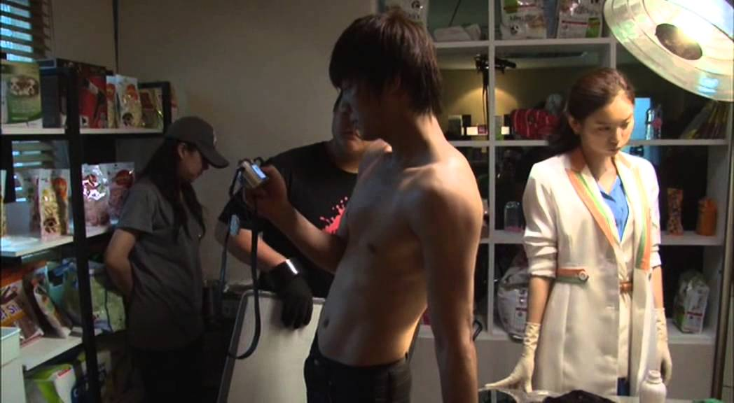 Download City Hunter Special Making DVD ~ Lee Yun Sung push up muscle