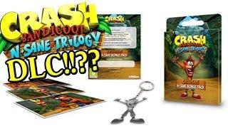 Crash Bandicoot N. Sane Trilogy DLC! Stormy Ascent? CRASH TEAM RACING!? NEW LEVELS!?