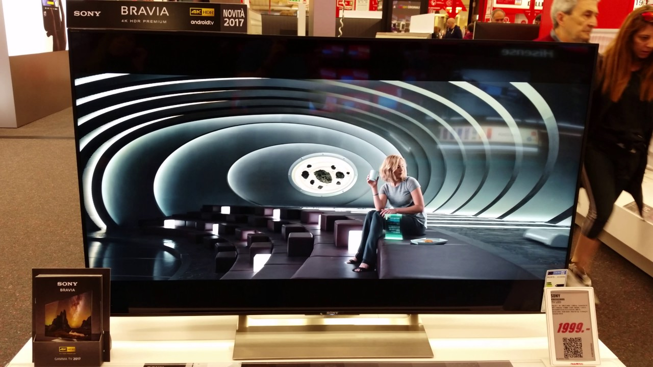 sony kd 55xe9005. sony kd55xe9005 tv led 2017 4k - have a look before you buy. kd 55xe9005