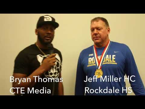 CTE Media Video Interview With State Champ Head Coach Jeff Miller of Rockdale High School