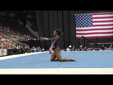 Simone Biles – Floor Exercise – 2019 U.S. Gymnastics Championships – Senior Women Day 2